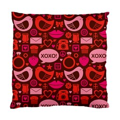 Xoxo! Standard Cushion Case (two Sides) by Nexatart