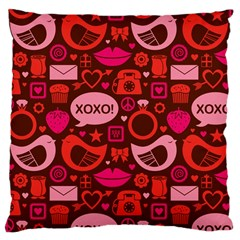 Xoxo! Large Cushion Case (two Sides)