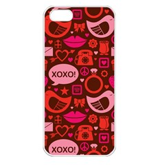 Xoxo! Apple Iphone 5 Seamless Case (white)
