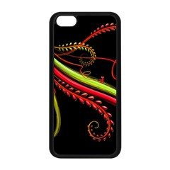 Cool Pattern Designs Apple Iphone 5c Seamless Case (black) by Nexatart