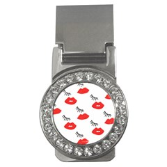 Smooch Pattern Design Money Clips (cz)  by Nexatart