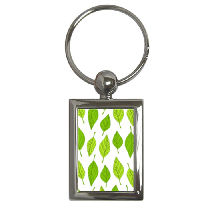 Spring Pattern Key Chains (Rectangle)