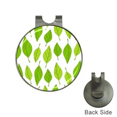 Spring Pattern Hat Clips With Golf Markers by Nexatart