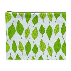 Spring Pattern Cosmetic Bag (xl) by Nexatart