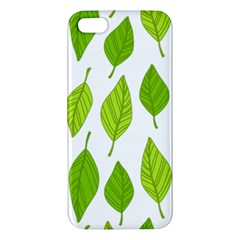 Spring Pattern Iphone 5s/ Se Premium Hardshell Case by Nexatart