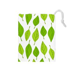 Spring Pattern Drawstring Pouches (medium)