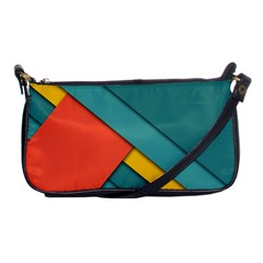 Color Schemes Material Design Wallpaper Shoulder Clutch Bags by Nexatart