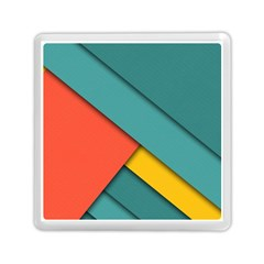 Color Schemes Material Design Wallpaper Memory Card Reader (square)  by Nexatart