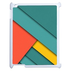 Color Schemes Material Design Wallpaper Apple Ipad 2 Case (white) by Nexatart