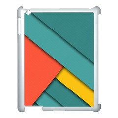 Color Schemes Material Design Wallpaper Apple Ipad 3/4 Case (white) by Nexatart