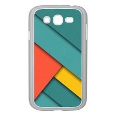 Color Schemes Material Design Wallpaper Samsung Galaxy Grand Duos I9082 Case (white) by Nexatart
