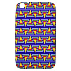 Seamless Prismatic Pythagorean Pattern Samsung Galaxy Tab 3 (8 ) T3100 Hardshell Case