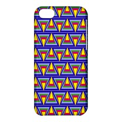 Seamless Prismatic Pythagorean Pattern Apple Iphone 5c Hardshell Case by Nexatart