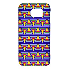 Seamless Prismatic Pythagorean Pattern Galaxy S6