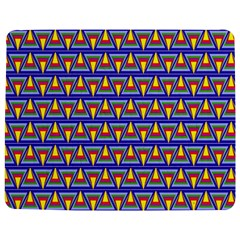 Seamless Prismatic Pythagorean Pattern Jigsaw Puzzle Photo Stand (rectangular)