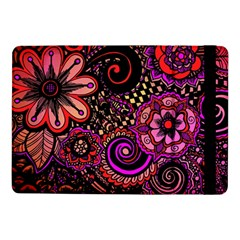 Sunset Floral Samsung Galaxy Tab Pro 10 1  Flip Case by Nexatart