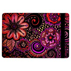 Sunset Floral Ipad Air Flip by Nexatart