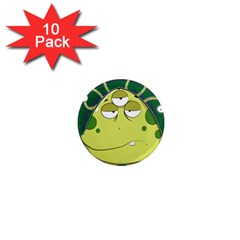 The Most Ugly Alien Ever 1  Mini Magnet (10 Pack)  by Catifornia