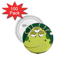 The Most Ugly Alien Ever 1 75  Buttons (100 Pack)  by Catifornia