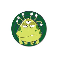 The Most Ugly Alien Ever Magnet 3  (round) by Catifornia