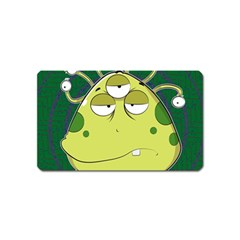 The Most Ugly Alien Ever Magnet (name Card) by Catifornia