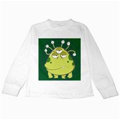 The Most Ugly Alien Ever Kids Long Sleeve T Shirts by Catifornia