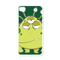 The Most Ugly Alien Ever Apple Iphone 4 Case (white) by Catifornia