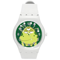 The Most Ugly Alien Ever Round Plastic Sport Watch (m) by Catifornia