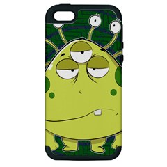 The Most Ugly Alien Ever Apple Iphone 5 Hardshell Case (pc+silicone) by Catifornia