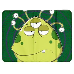 The Most Ugly Alien Ever Samsung Galaxy Tab 7  P1000 Flip Case by Catifornia