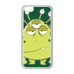The Most Ugly Alien Ever Apple Iphone 5c Seamless Case (white) by Catifornia