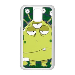The Most Ugly Alien Ever Samsung Galaxy S5 Case (white) by Catifornia