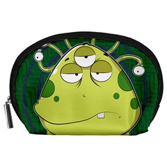 The Most Ugly Alien Ever Accessory Pouches (large)  by Catifornia