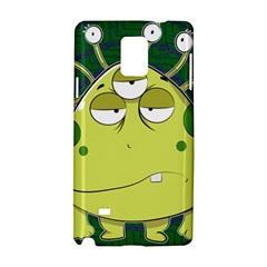 The Most Ugly Alien Ever Samsung Galaxy Note 4 Hardshell Case by Catifornia