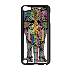 Prismatic Floral Pattern Elephant Apple Ipod Touch 5 Case (black) by Nexatart