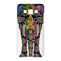 Prismatic Floral Pattern Elephant Samsung Galaxy A5 Hardshell Case