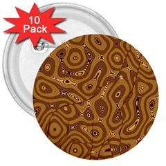Giraffe Remixed 3  Buttons (10 Pack)  by Nexatart