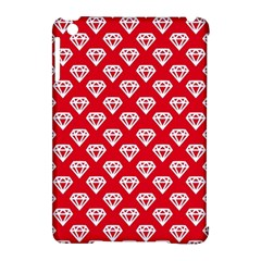 Diamond Pattern Apple Ipad Mini Hardshell Case (compatible With Smart Cover) by Nexatart