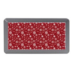 Merry Christmas Pattern Memory Card Reader (mini) by Nexatart