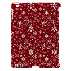 Merry Christmas Pattern Apple Ipad 3/4 Hardshell Case (compatible With Smart Cover)