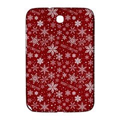 Merry Christmas Pattern Samsung Galaxy Note 8 0 N5100 Hardshell Case  by Nexatart