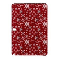 Merry Christmas Pattern Samsung Galaxy Tab Pro 12 2 Hardshell Case by Nexatart