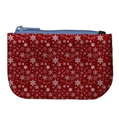 Merry Christmas Pattern Large Coin Purse