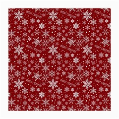 Merry Christmas Pattern Medium Glasses Cloth (2 Side)
