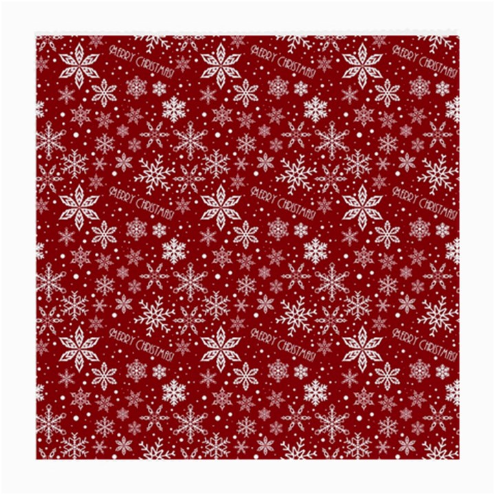 Merry Christmas Pattern Medium Glasses Cloth (2-Side)