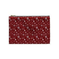 Merry Christmas Pattern Cosmetic Bag (medium)  by Nexatart