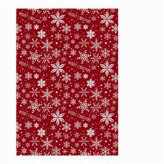 Merry Christmas Pattern Small Garden Flag (two Sides)