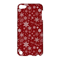 Merry Christmas Pattern Apple Ipod Touch 5 Hardshell Case