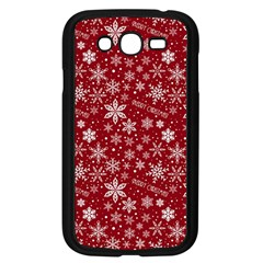 Merry Christmas Pattern Samsung Galaxy Grand Duos I9082 Case (black) by Nexatart