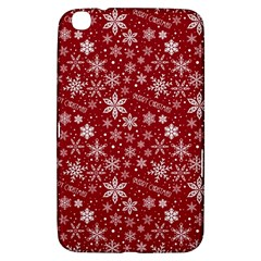 Merry Christmas Pattern Samsung Galaxy Tab 3 (8 ) T3100 Hardshell Case